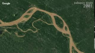 Download Google Timelapse: Zaragoza River Video