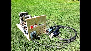 Download DIY WELDING MACHINE USING 5 MICROWAVE TRANSFORMERS Video