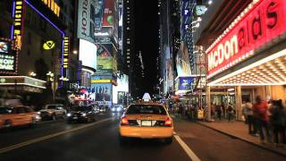 Download New York City & Times Square Night Tour Video