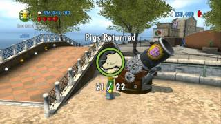 Download LEGO City Undercover 100% Guide - Fresco (Overworld Area) - All Collectibles Video