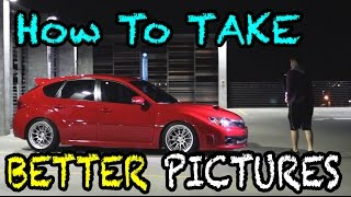 Download How to Take PICTURES of CARS! Video