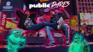 Download CRINGEY Public Dares in NYC (Social Experiments) Video
