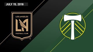 Download HIGHLIGHTS: Los Angeles Football Club vs. Portland Timbers | July 15, 2018 Video
