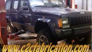 Download c2cfabrication restores a 1996 jeep cherokee rusted out floor pans Video
