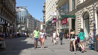 Download Shopping streets in Vienna (Wien) - Austria (4K Ultra HD) Video