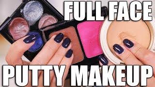 Download STRANGE MAKEUP!!! FULL FACE using PUTTY MAKEUP Video
