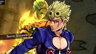 Download All Giorno Interactions with the Joestars (Part 1 to 6) (Jojo's Bizarre adventure Eyes of Heaven) Video