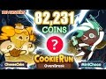 Download CookieRun OvenBreak คุกกี้รันเก็บเงิน 82,231 Coins | CheeseCake+MintChoco | xBiGx Video
