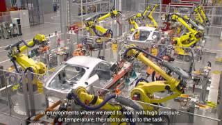 Download FANUC ipari robotok az AUDI Hungariánál Video