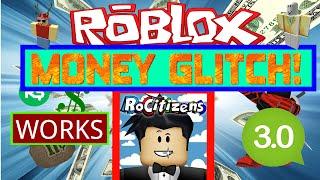 Download Rocitizens: MONEY GLITCH 3.0! [WORKING] [May 2016] (Roblox) Video