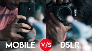 Download MOBILE vs DSLR CAMERA! Video