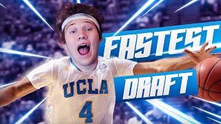 Download FASTEST PLAYERS DRAFT! - NBA 2K16 DRAFT Video