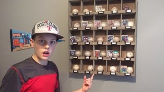 Download My autographed baseball collection! Video