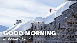 Download Rooftop Skiing in France | Good Morning By Richard Permin Video
