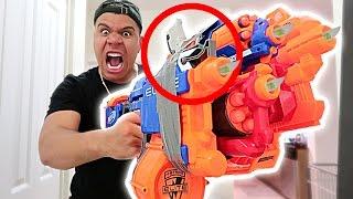 Download EPIC NERF WAR VS GIRLFRIEND!! (DANGEROUS 200MPH NERF GUN) Video