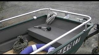 Download Jon Boat Mods - Part 2 - Bilge Pump, Bow Light & Floor Boards Video