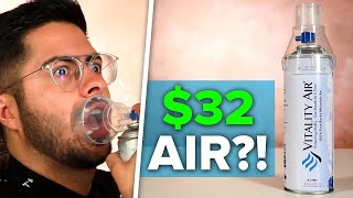 Download We Tried $32 Bottled Air Video