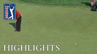 Download Tiger Woods' Highlights   Round 4   Quicken Loans 2018 Video