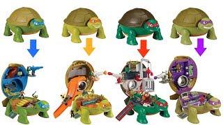 Download Teenage Mutant Ninja Turtles TMNT Micro Mutants Michelangelo Skate Park Leonardo Raphael Donetello Video