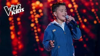 Download Juanse Laverde canta Cómo Mirarte - Audiciones a ciegas | La Voz Kids Colombia 2018 Video
