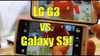 Download LG G3 vs. Galaxy S5 Camera Comparison! Video