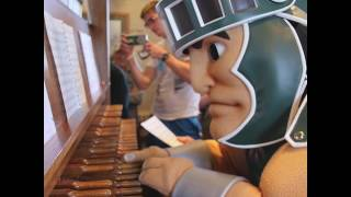 Download Sparty Plays the Fight Song Video