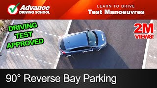 Download 90° Reverse Bay Parking Manoeuvre | New UK Driving Test Video