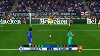 Download CHELSEA FC vs FC BARCELONA  Penalty Shootout   PES 2017 Gameplay   UEFA Champions League Video