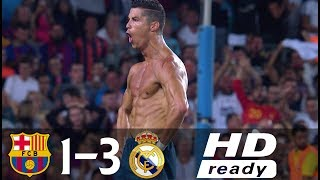 Download Barcelona vs Real Madrid 1-3 All Goals & Highlights (Spanish Super Cup 2017) Video