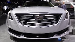 Download 2017 Cadillac CT6 3.0TT AWD - Exterior and Interior Walkaround - 2016 LA Auto Show Video