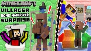 Download VILLAGER HOME MAKEOVER SURPRISE! Minecraft Furniture Mod Fun w/ FGTEEV Duddy & Chase (Showcase) Video