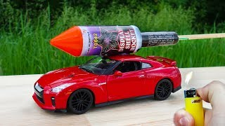 Download EXPERIMENT: XXL ROCKETS WITH TOY CAR GTR Video