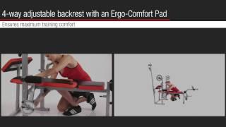 Download Weight bench Bermuda XT Pro | HAMMER Video