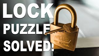 Download Solving the IMPOSSIBLE Lock Puzzle!! Video