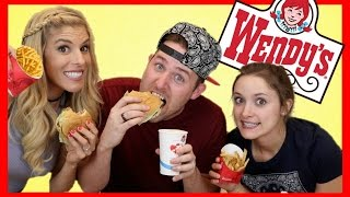 Download TASTING WENDY'S VALUE MENU (with Rebecca Zamolo & Erin Evans) Video