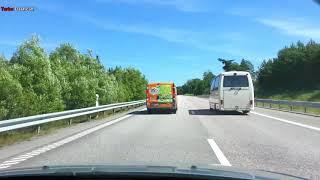 Download Turbo Dashcam #16 - Speeding tailgaters in Sweden Video