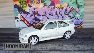 Download [HOONIGAN] DT 129: Ken Block's 1991 Ford Escort Cosworth Group A Rally Car Video