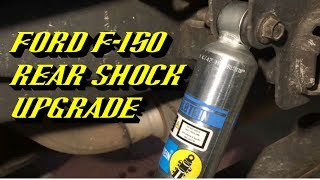 Download 2004-2017 Ford F-150 Rear Shock Replacement: Featuring Bilstein 5100 Series Shocks Video