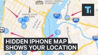 Download There's a hidden map in your iPhone of everywhere you've been Video