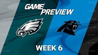 Download Philadelphia Eagles vs. Carolina Panthers | Week 6 Game Previews | NFL Playbook Video
