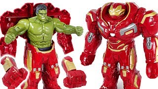 Download Red Hulk is angry! Go! Marvel Avengers Infinity War Hulk in Hulkbuster armor! - DuDuPopTOY Video
