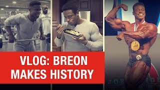 Download Our Champ's Olympia Journey | Breon Ansley 2018 Mr. O Classic Physique [VLOG] Video