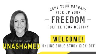 Download Unashamed Bible Study Kickoff with Christine Caine Video