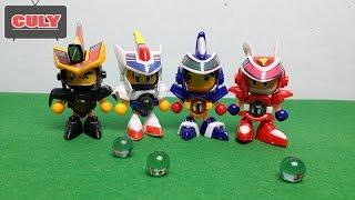 Download Robot bắn bi Bom Bom Man siêu nhân đồ chơi trẻ em toy for kid Video