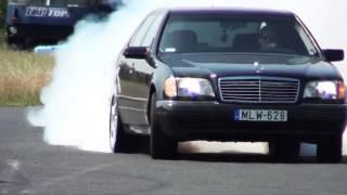 Download Mercedes S 600 V12 Biturbo 0-270km/h acceleration, and burnout || KO 860 Video