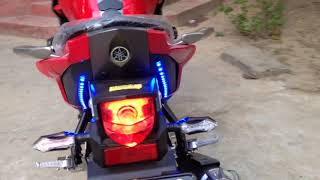 Download Yamaha Fazer Verson 2.0 150cc 30sep2016 Modified with LED & Angel Eye Projector Lighty Video