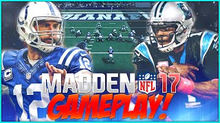 Download Madden NFL 17 Gameplay! FULL GAME! Cam Newton vs Andrew Luck!!! Video