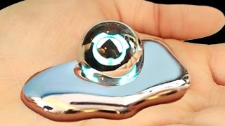 Download LIQUID MIRROR!? Metal That Melts In Your Hand! Video