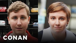 Download Johnny Pemberton Is A Dead Ringer For Lena Dunham - CONAN on TBS Video
