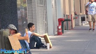 Download The Homeless Man VS Homeless Child! (Social Experiment) Video